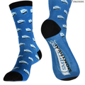".Socks ""THE COMBO"" Inkjet Printing 360 - Crew size fit almost all"