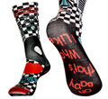 ".Socks Sublimation - Crew : 14"" x 3-1/2"""