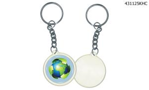 "Button - Round 1- 1/4"" Key Holder - Printed digitally 4 color process"