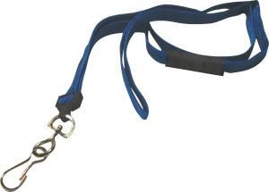 "Non Printed Tubular Polyester Lanyard - 3/8"" Width with Safety Breakaway"